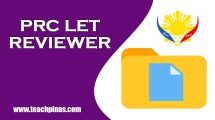 PRC LET Reviewer with Answer Keys
