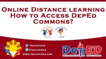 How to access DepEd Commons