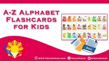 A-Z Alphabet Flashcards/Decoration for Kids