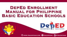 DepEd Enrollment Manual for Philippine Basic Education Schools