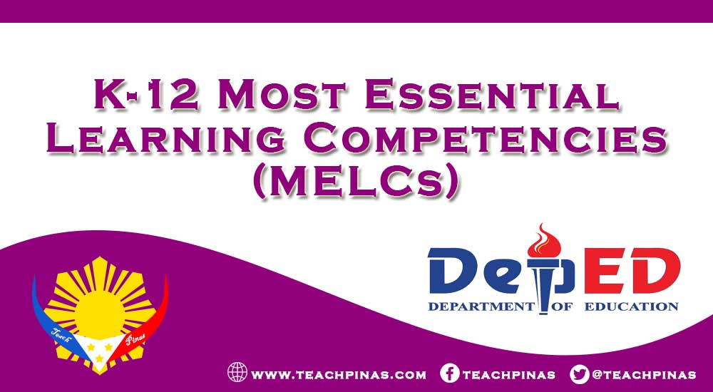 K-12 Most Essential Learning Competencies (MELCs) PDF