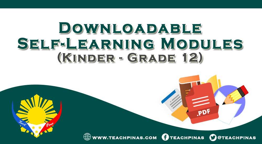 K-12 Self-Learning Modules